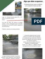 Contaminaciòn por aguas residuales 24Enero013