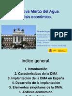 La Directiva Marco Del Agua Analisis Economico