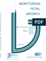 monitoring fetal growth