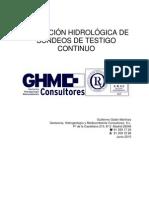 Aplicacion Hidrologica de Sondeos de Testigo Continuo