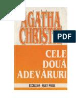 Agatha Christie - Cele Doua Adevaruri