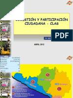 Cogestión y participación Ciudadana