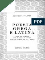 Poesia grega e latina - seleção