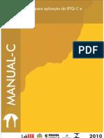 Manual de Aplicação dos Requisitos Técnicos da Qualidade - RTQ-C