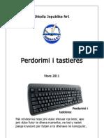 Perdorimi i tastieres
