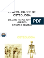 Generalidades de Osteologia