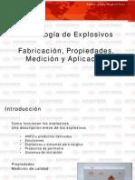 Características de Explosivos Industriales