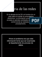 Historia de Las Redes