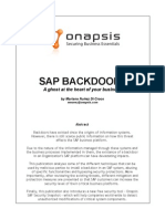 BlackHat USA 2010 Di Croce SAP Backdoors Wp