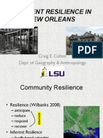 """Craig Colten - """"Inherent Resilience in New Orleans"""""""