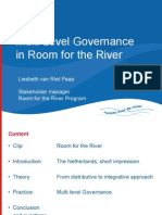 "Liesbeth van Riet Paap - ""Multi-Level Governance in Room for the River"""