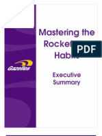 Mastering the Rockefeller Habits-summary