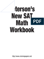 SAT math workbook