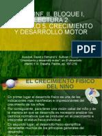Crecimiento y Desarrollo Motor