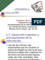 2 Constructivismo y Educación Mario Carretero