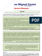 Projeto Redacao 2012 Tema 26