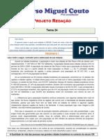 Projeto Redacao 2012 Tema 24
