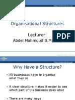 organization structures (4)