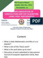 PhD Progress Report