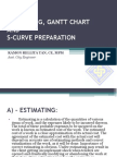 04. Estimating, Gantt chart and S-Curve Preperation
