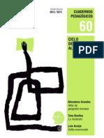 Cuaderno 60 Con Escenografia