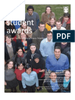 CFIS Student Award Fact Sheet