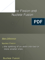 Nuclear Fission vs Nuclear Fusion PPT