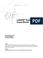 LabVIEW Basics II Course Manual