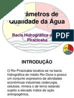 Parametros de Qualidade Da Agua BHRP