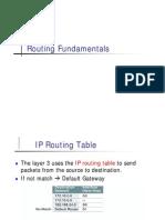 3.1 Routing Fundamental