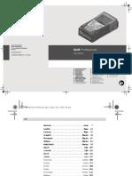Glm 150 Professional Manual