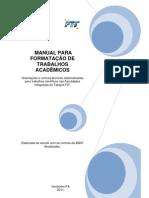 Manual Para Formatacao de Trabalhos Academicos FIT