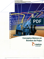 Conceptos básicos en Bombas de Pulpa