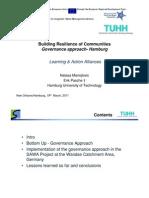 "Natasa Manojlovic - ""Building Resilience of Communities   Governance Approach - Hamburg"""