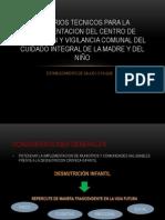 Criterios Tecnicos Para La Implementacion Del Centro De