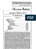 Bureau of Internal Revenue Cumulative Bulletin VIII-2 (1929)