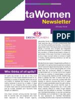 Delta Women Newsletter (January 2013)