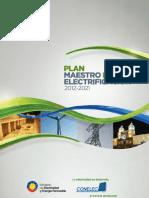 Plan Maestro Electrificacion 2012-2021