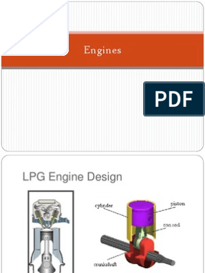 Engine PPT | Internal Combustion Engine | Diesel Engine