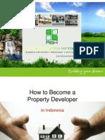 Menjadi Developer Properti di Indonesia