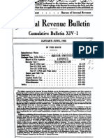 Bureau of Internal Revenue Cumulative Bulletin XIV-1 (1935)