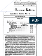 Bureau of Internal Revenue Cumulative Bulletin XIII-1 (1934)