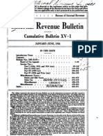 Bureau of Internal Revenue Cumulative Bulletin XV-1 (1936)