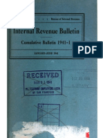 Bureau of Internal Revenue Cumulative Bulletin 1941-1