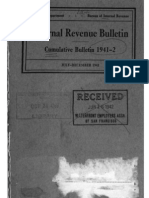 Bureau of Internal Revenue Cumulative Bulletin 1941-2