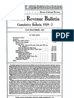 Bureau of Internal Revenue Cumulative Bulletin 1939-2