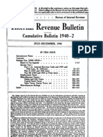 Bureau of Internal Revenue Cumulative Bulletin 1940-2