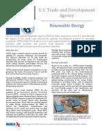 USTDASectorBrief_RenewableEnergy