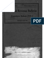Bureau of Internal Revenue Cumulative Bulletin 1949-1