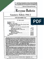 Bureau of Internal Revenue Cumulative Bulletin 1946-2